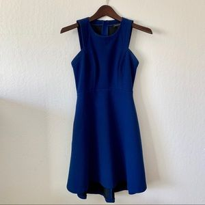 Banana Republic Blue Fit and Flare Dress